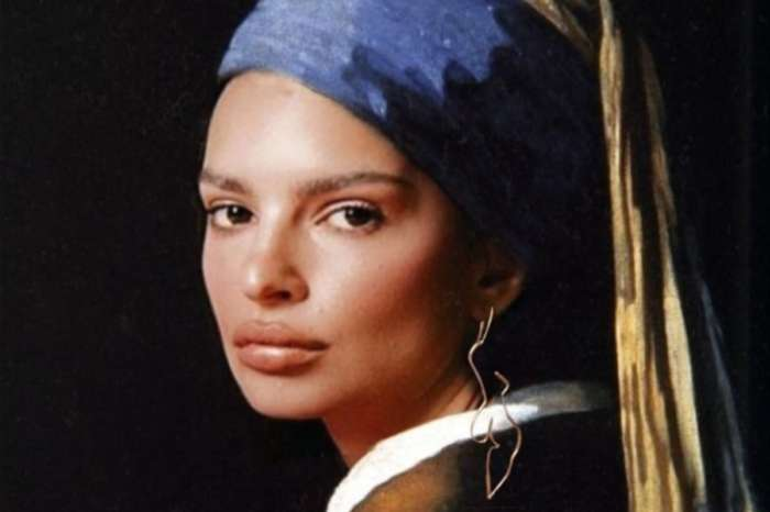 Emily Ratajkowski Channels Johannes Vermeer Girl With A Pearl Earring In Brilliant Inamorata Woman Campaign