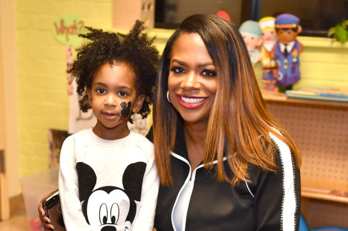 Kandi Burruss Had Her Son, Ace Wells Tucker In The Studio, Recording - See The Sweet Pics