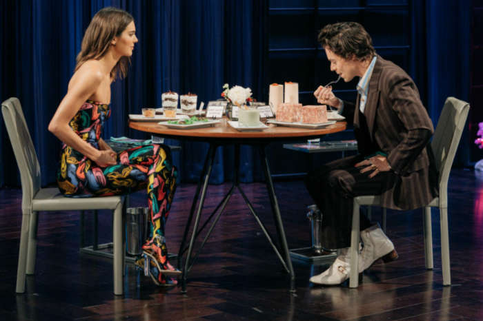 Harry Styles Eats The Nastiest Thing To Avoid Telling Kendall Jenner What Songs He Wrote About Her In New Game Of 'Spill Your Guts Or Fill Your Guts'