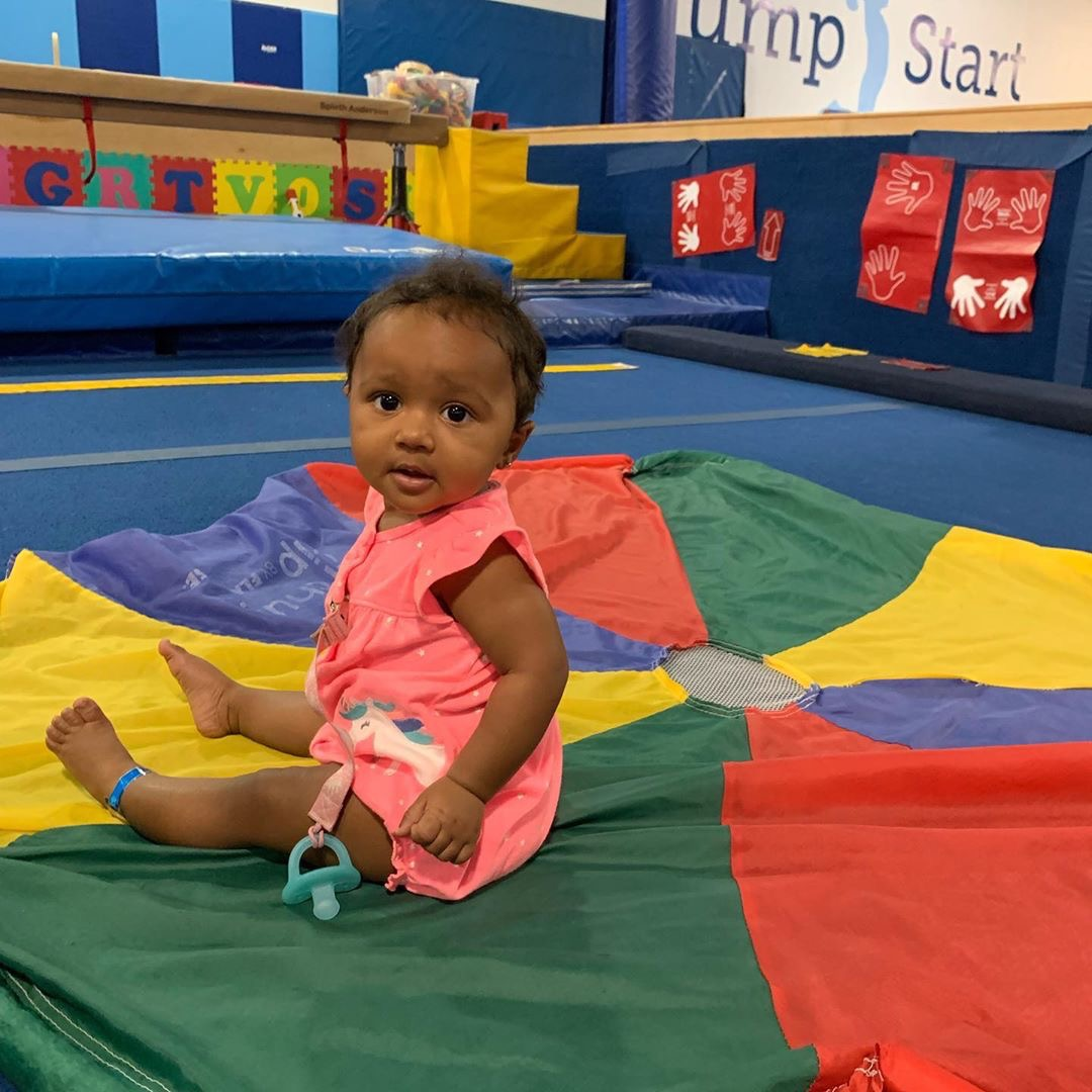 Kenya Moore Shares Brooklyn Daly's New Wheels - Check Out The Happy Baby Who Will Make Your Day