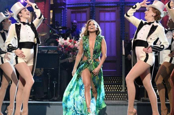Jennifer Lopez Wore Versace's Jungle Dress On Saturday Night Live In 2001 And 2019 — See The Videos