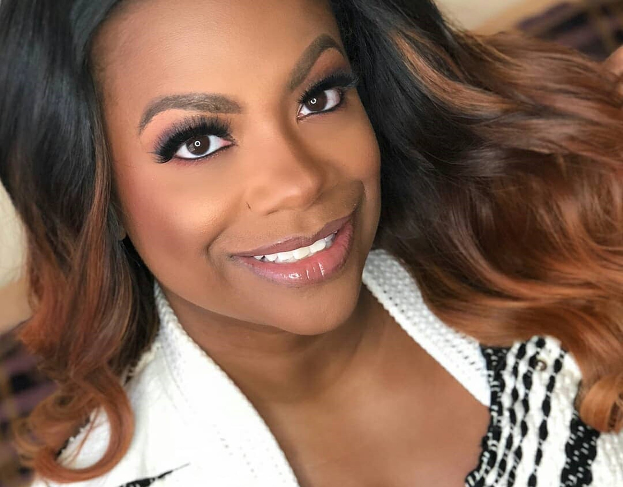 Kandi Burruss Shares Gorgeous Pics With Her Family For Christmas - See Them Here
