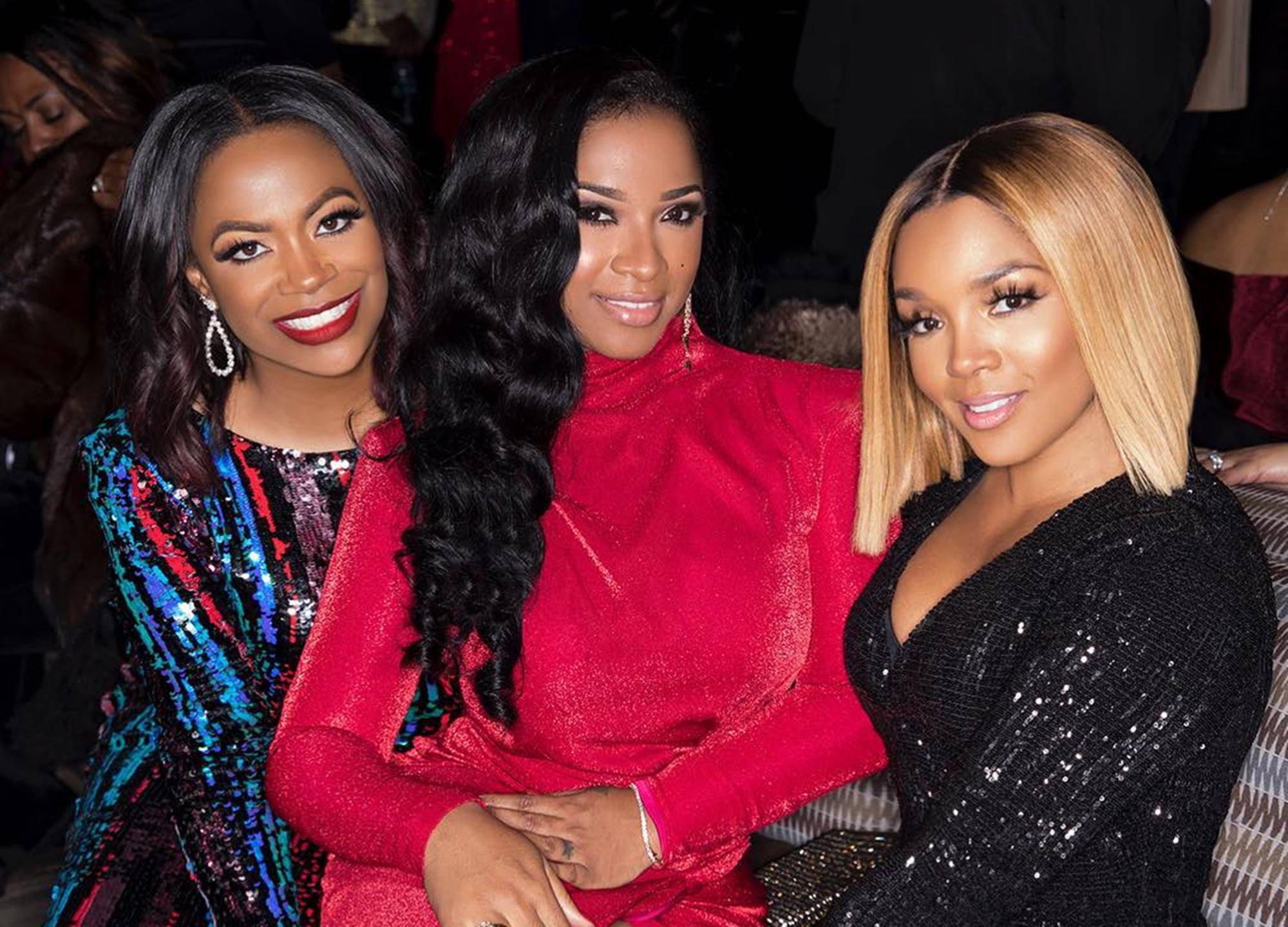 Kandi Burruss Spends Quality Time With Riley Burruss, Shamea Morton, Rasheeda Frost, And Toya Wright