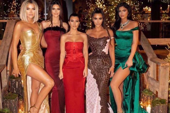 KUWK: The Kardashian And Jenner Sisters Look Gorgeous In Christmas Eve Party Photo