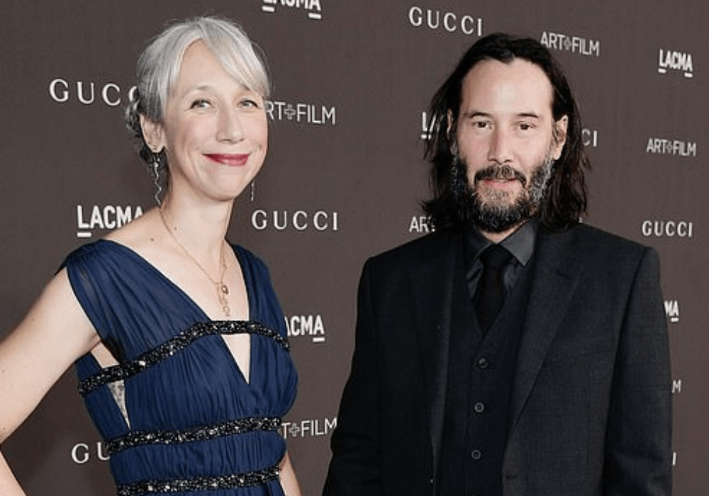 Keanu Reeves' Girlfriend Alexandra Grant Explains Why She Chose To Go Gray Instead of Using Hair Dye