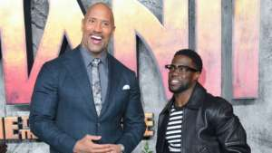 Kevin Hart On The Rock Filling In For Him While He Recovered: 'He's A Good Guy'