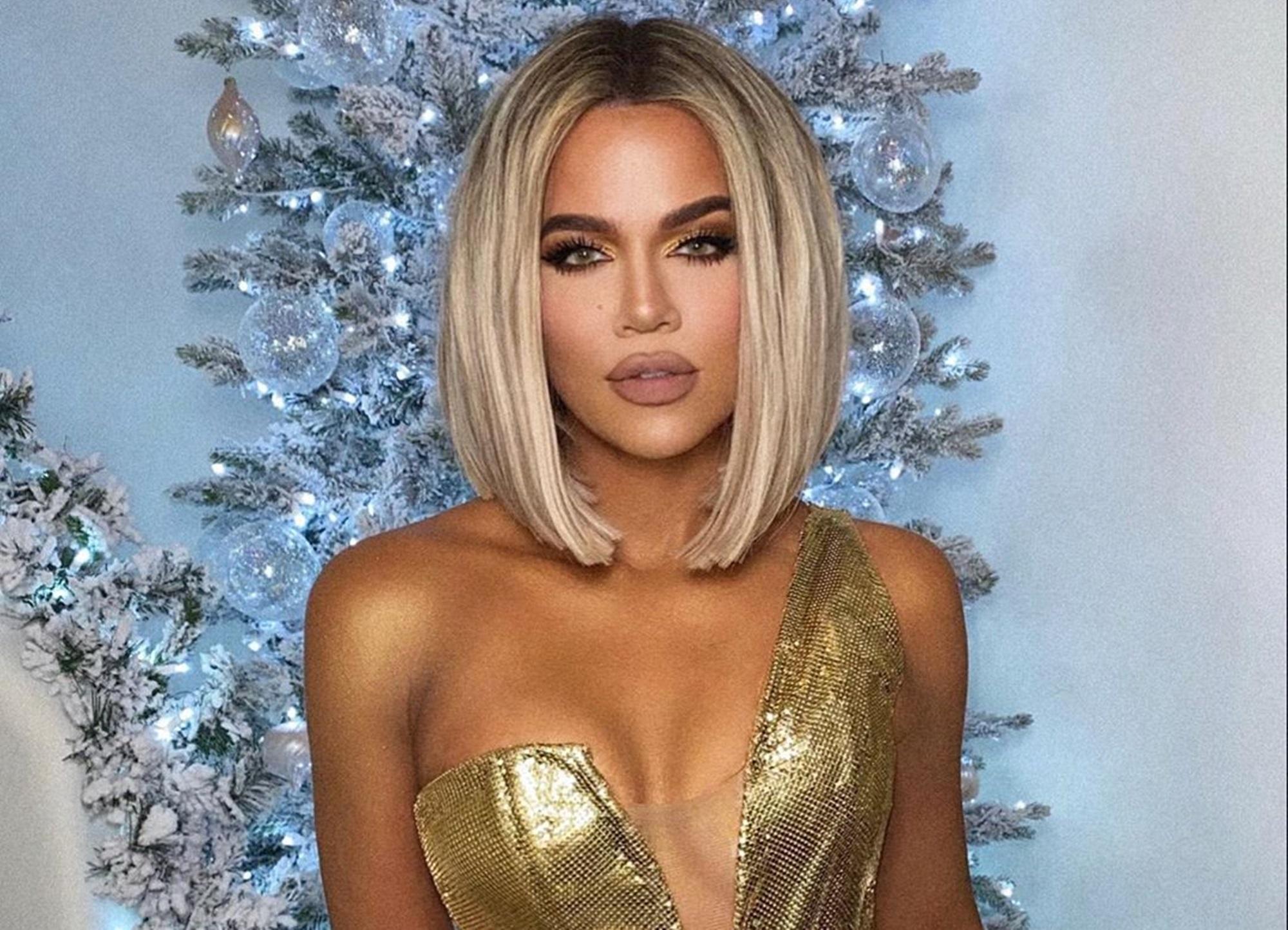 Khloe Kardashian Tristan Thompson Christmas