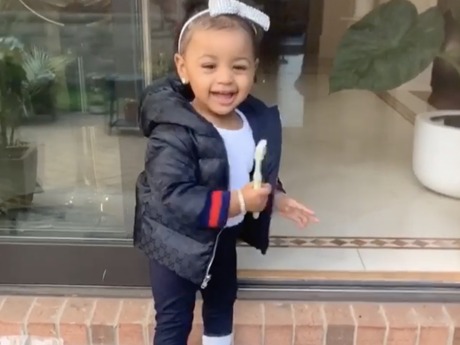 Cardi B's Daughter Kulture Shows Off Her Singing And