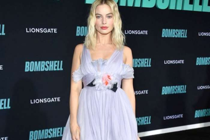 Margot Robbie Is Beautiful In Giambattista Valli For Bombshell Premiere