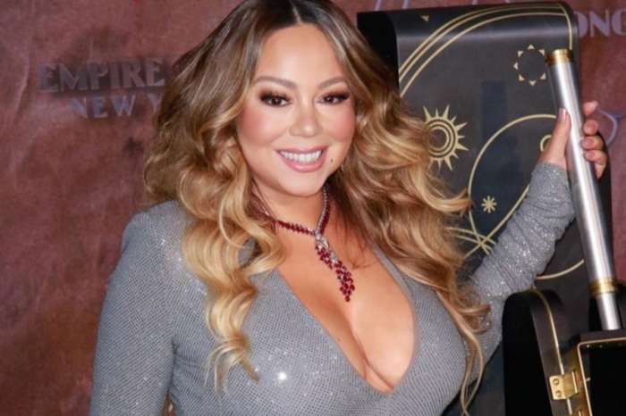 Mariah Carey Wore A Ruby And Diamond Necklace, Giuseppe Zanotti Platform Heels To Light Empire State Building