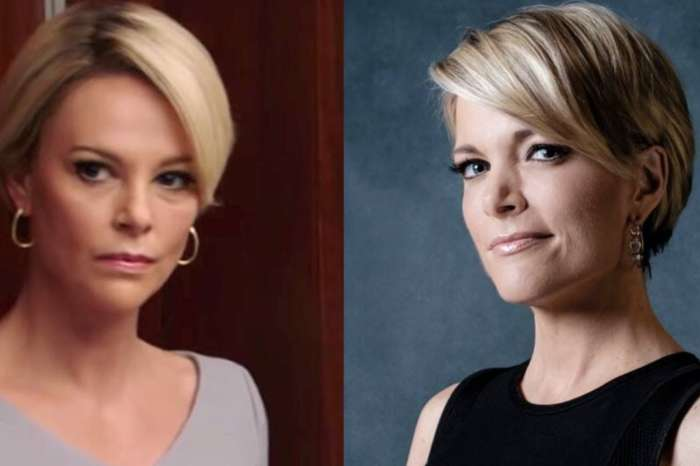 Megyn Kelly's Son Convinced Charlize Theron Is His Mom's Twin In Poster For The Movie 'Bombshell'