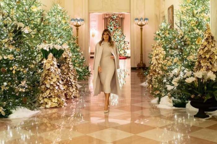 Melania Trump Unveils Gorgeous White House With Christmas Theme The Spirit Of America — See The Photos