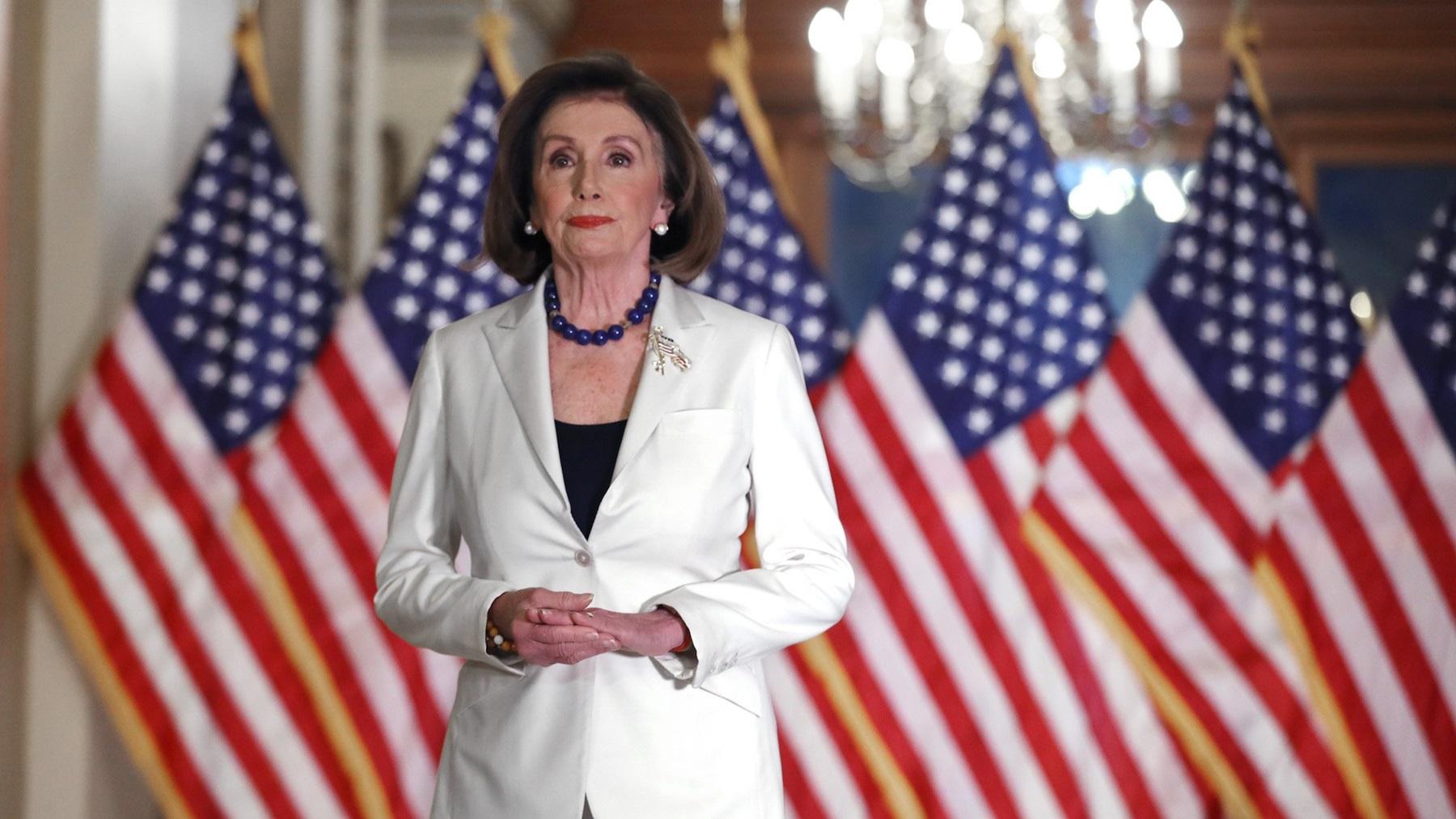 Nancy Pelosi James Rosen Donald Trump Question