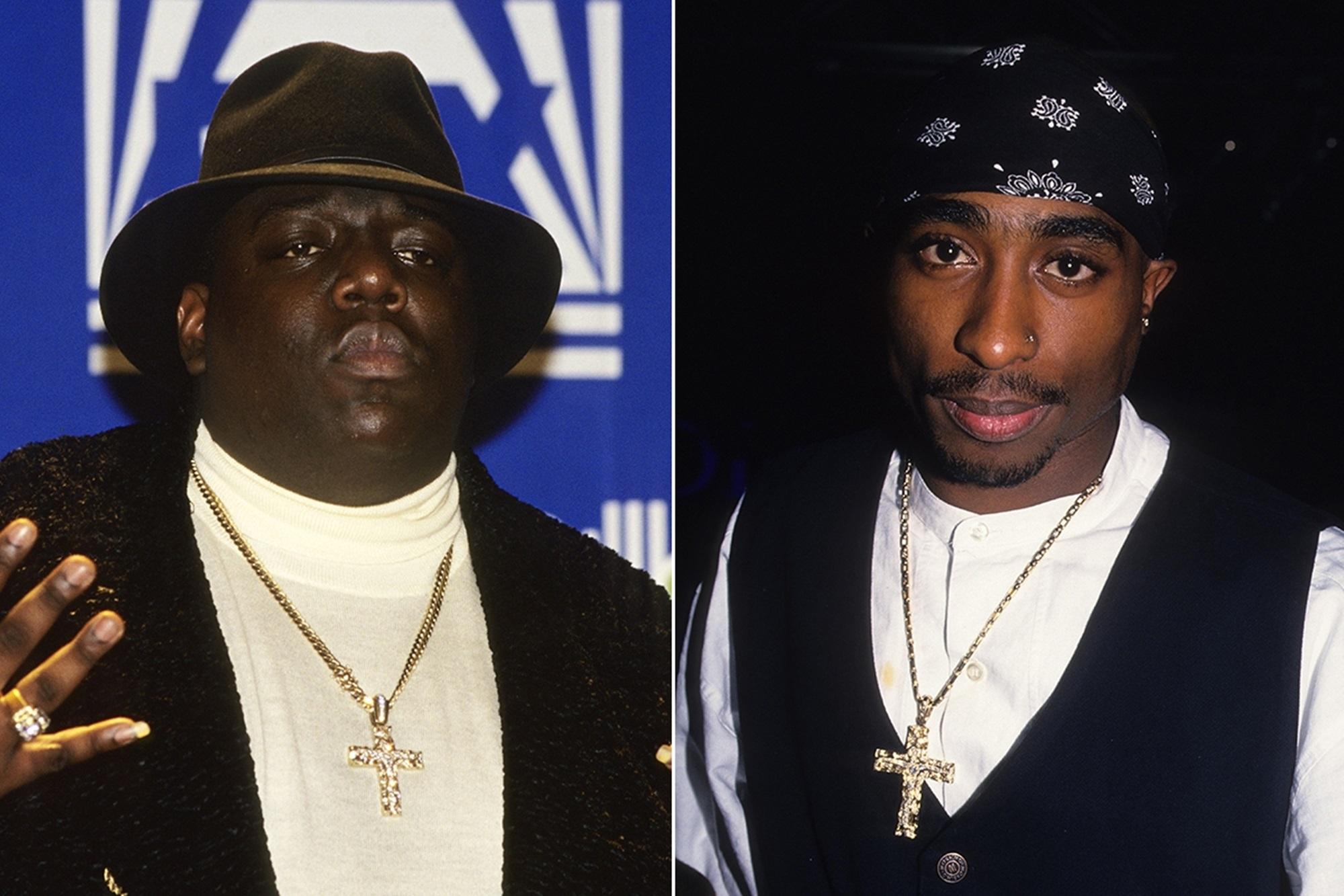Notorious B.I.G Tupac Shakur Tom Sizemore