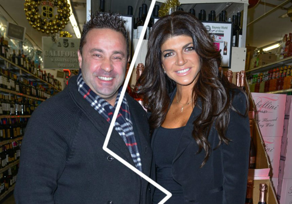 RHONJ - Teresa and Joe Giudice Announce They Are Separating After 20 Years Of Marriage
