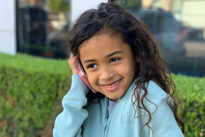 Chris Brown Melts Hearts And Sparks Drama With First Photo Of His Two Children, Royalty And Aeko Catori Brown