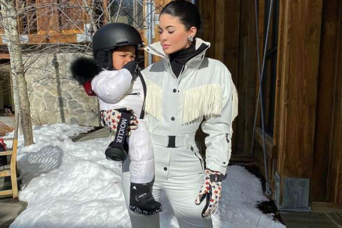 Kylie Jenner Takes Stormi Webster Snowboarding And It's Adorable