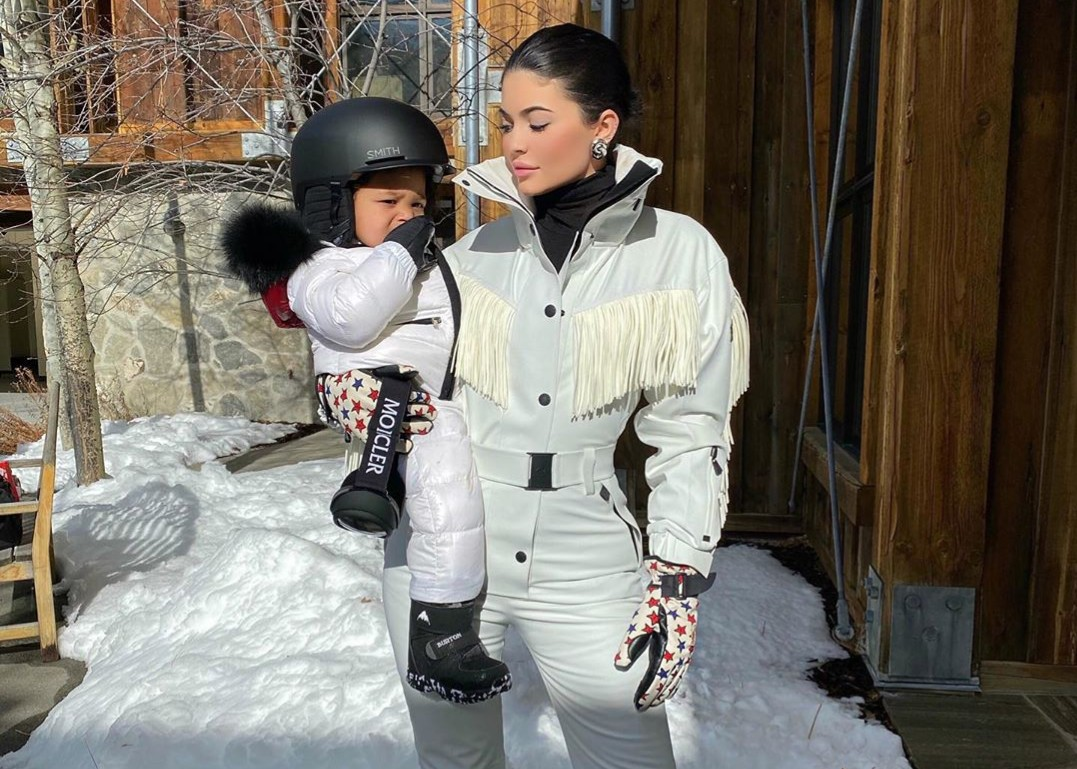 Kylie Jenner lives her best life in snowy vacation photos