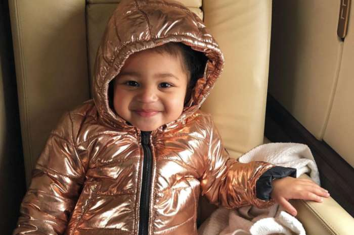 Stormi Webster Is Adorable In New Photos On Private Jet As Kylie Jenner Calls Her The Cutest Travel Buddy