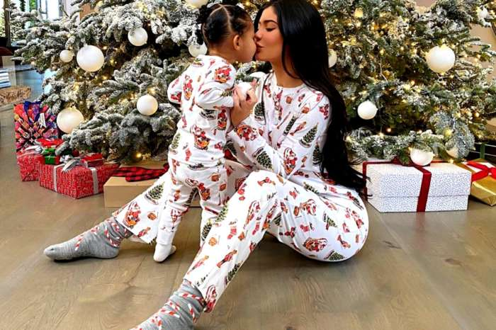 Kylie Jenner And Stormi Webster Wear Matching Pajamas Christmas Morning — See The Adorable Photos