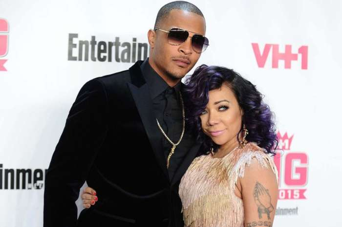 T.I. And Wife Tiny Harris Look Happy And Are Having Fun In New Photos With Son King Harris -- Confirming That They Are Unfazed By Deyjah Harris's 'Hymen-Check' Scandal