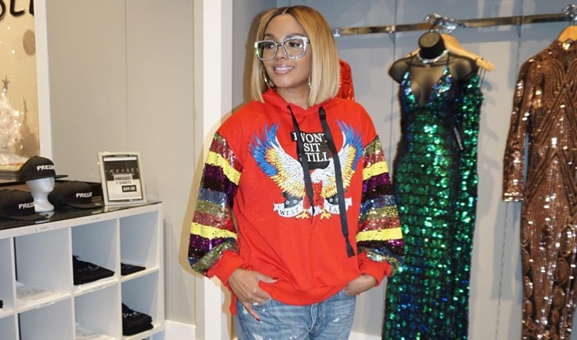 Rasheeda Frost Celebrates Her 20th Anniversary With Kirk Frost - Check Her Out Looking Drop-Dread Gorgeous In A Neon Fur