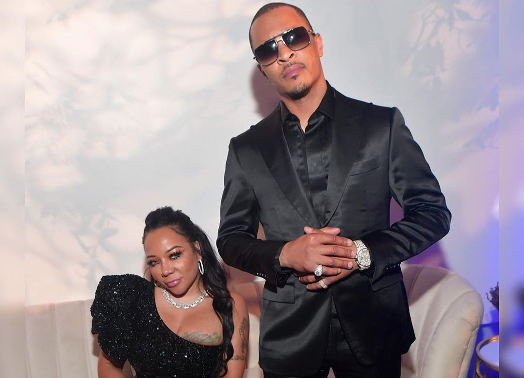 T.I. And Tiny Harris Flood Their Social Media Accounts With Pics From The Disney World