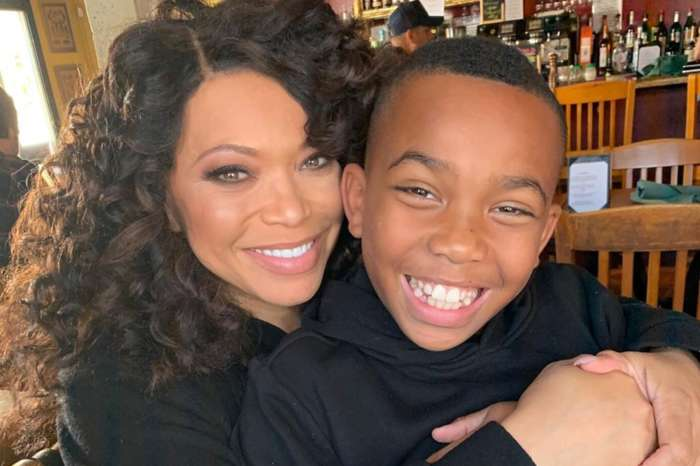 Tisha Campbell Had A Sweet Argument With Her Son In This Video Because He Found It Hard To Believe She Is African-American