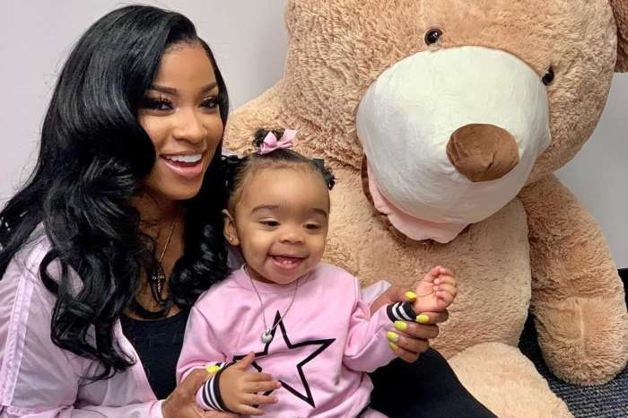 Toya Wright's Daughter Reign Rushing Meets Santa Claus And The Baby Girl Is Not Here For It! Check Out The Hilarious Pics