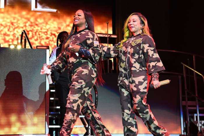 Kandi Burruss Makes Fans Happy With A Throwback Video Featuring Tiny Harris