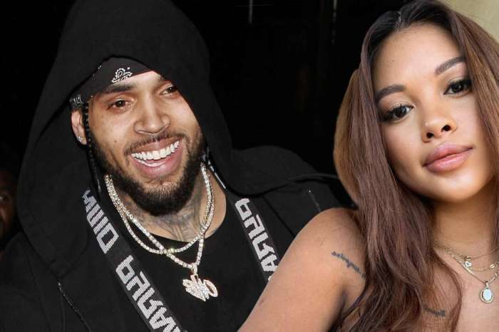 Chris Brown And Ammika Harris Finally Post Pics Of Her Baby Bump After Welcoming Their Son Aeko!