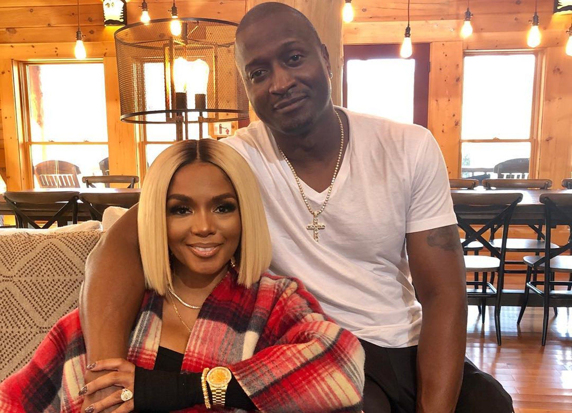 Rasheeda Frost's Latest Photo With Kirk Frost In Which He Touches Her Chest Has Fans Gushing Over Them In The Comments