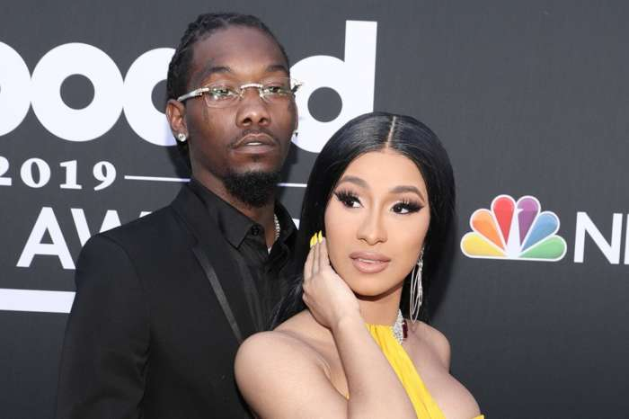 Offset Wears Cardi B Face Socks And Dances In A Santa Costume - Check Out The Vid!
