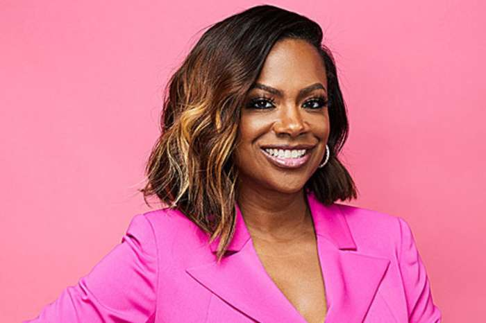 Kandi Burruss Gushes Over Kenny Lattimore Who Visited Her Aunt Bertha At The OLG