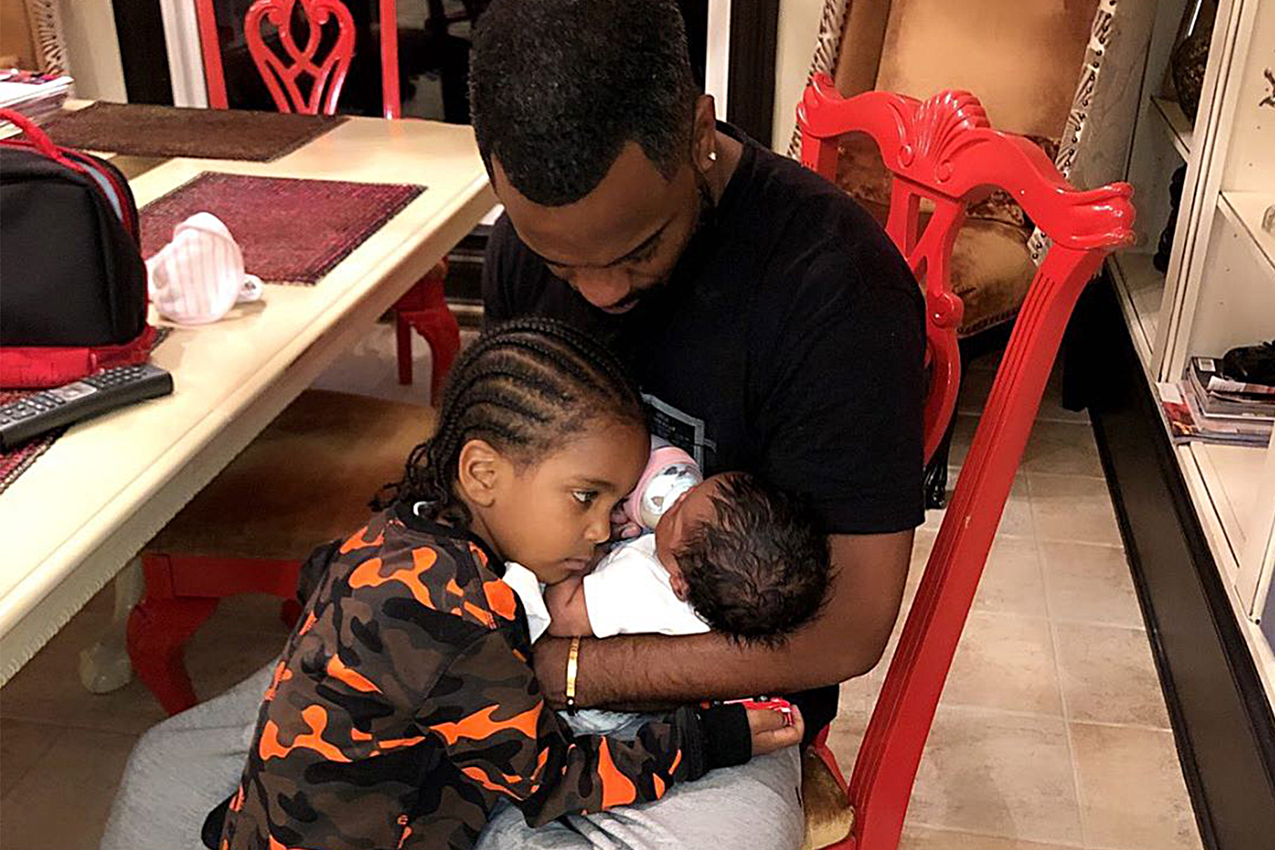 Kandi Burruss Shares The Most Adorable Photo With Ace Wells Tucker And His Sister, Blaze Tucker