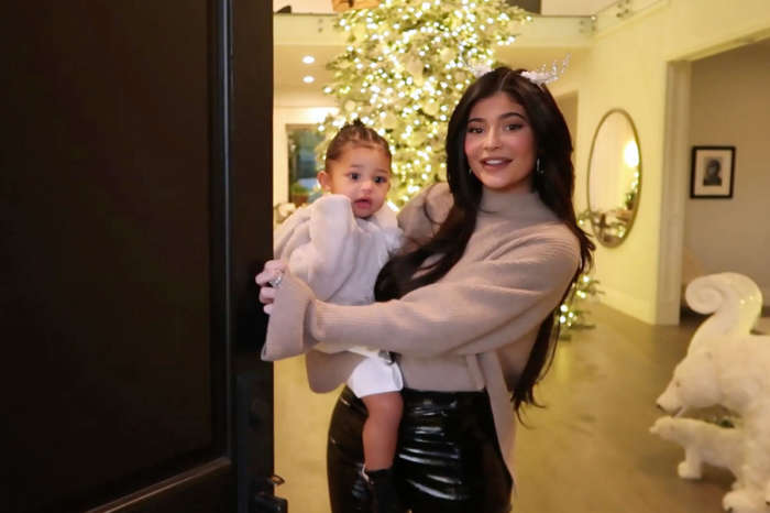 KUWK: Kylie Jenner And Daughter Stormi Steal The Show At The Kardashian-Jenner Christmas Eve Party In Matching Glam Looks!