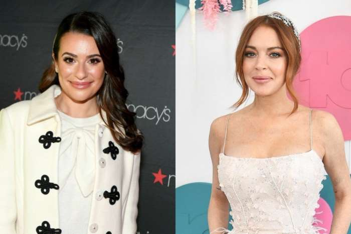 Lea Michele Reacts To Lindsay Lohan Shading Her - Says She Was Honored!