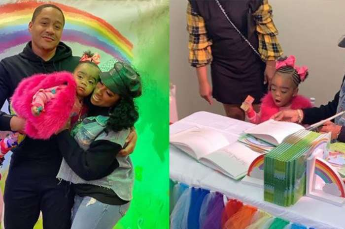 Toya Wright's Latest Video Of Reign Rushing Has People Saying She's Their Favourite IG Person
