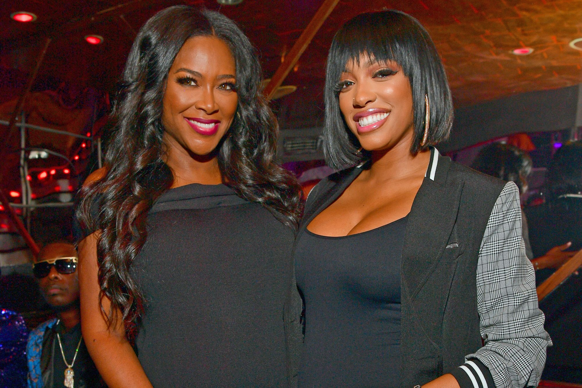 RHOA: Kenya Moore Regifts Eva Marcille's Gift To Porsha Williams And Baby Pilar Jhena And Some Find This Shady - See The Video