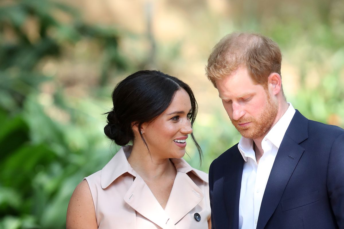 Prince Harry And Meghan Markle Reportedly Trademarked The 'Sussex Royal' Brand