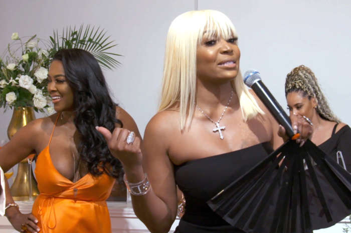 Kenya Moore's Fans Tell Her To Beware Of Marlo Hampton