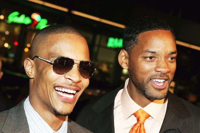 T.I. And Tiny Harris See 'Bad Boys For Life' And The Rapper Poses With Will Smith - People Also Notice Tip's Piercing!