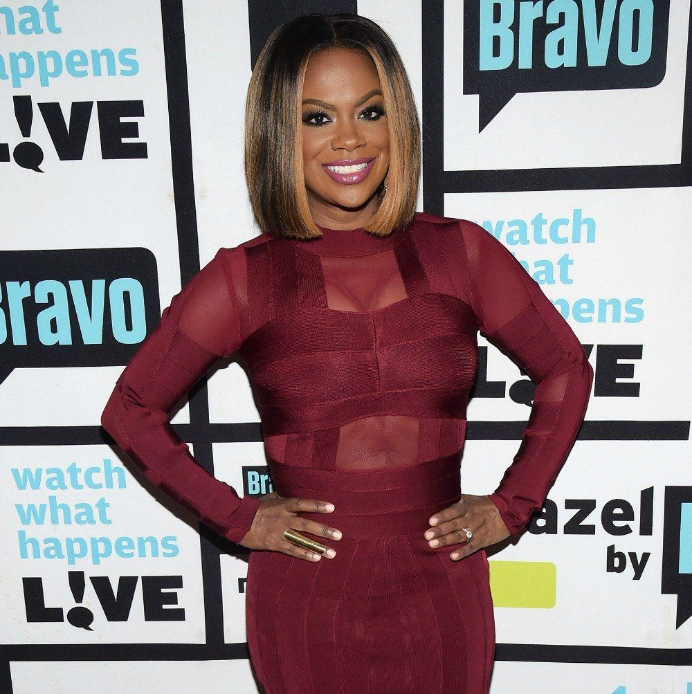 Kandi Burruss Poses With Blaze Tucker In Her Arms And Fans Are Happy To See A 'Baby With Her Mother's Face'