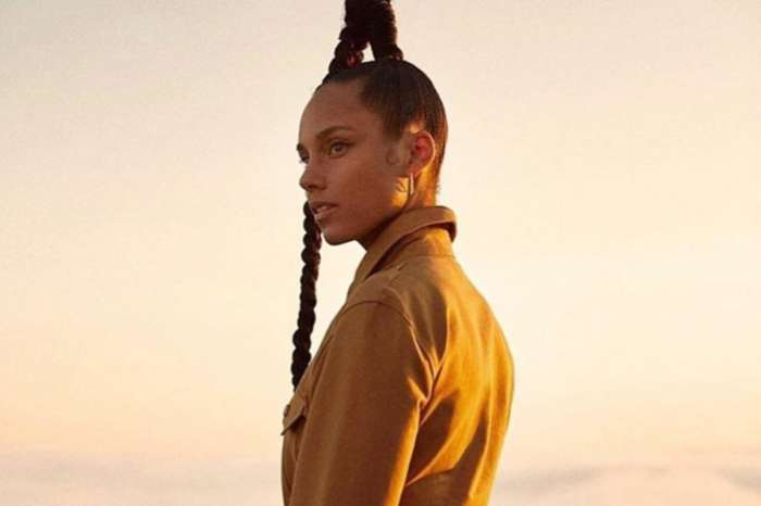 Alicia Keys Is Sporting A Braid So Long It Puts Kylie Jenner To Shame