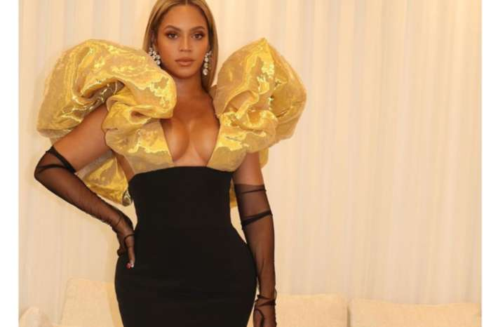 Beyonce Wore Schiaparelli Haute Couture To Golden Globes And Jay-Z Brought Ace Of Spades Armand De Brignac Champagne