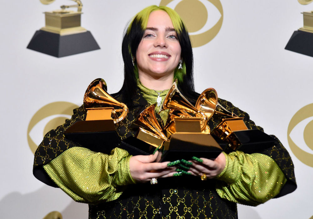 Billie Eilish Is Youngest Musician Ever To Sweep Top Four Grammy Categories
