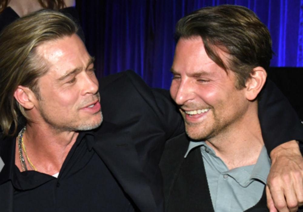 Brad Pitt Reveals Bradley Cooper Helped Him Get Sober
