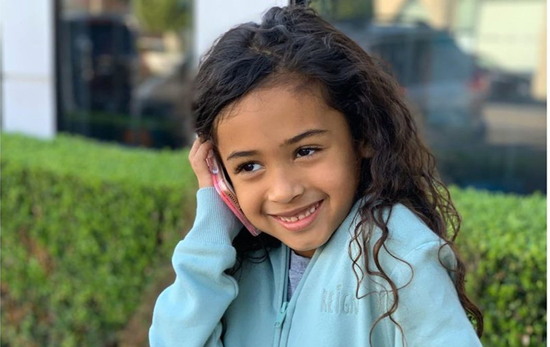 Chris Brown's Daughter Royalty Shows Off Her Singing Talent And Sass In Cute Clip! - Celebrity Insider