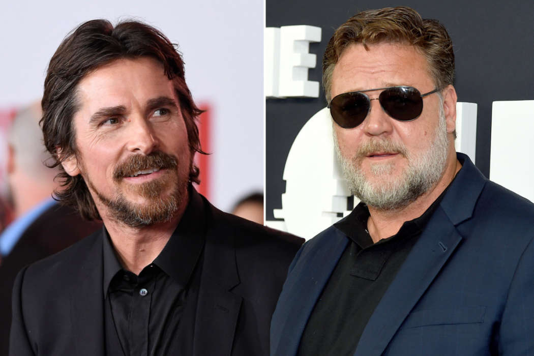 Christian Bale and Russell Crowe