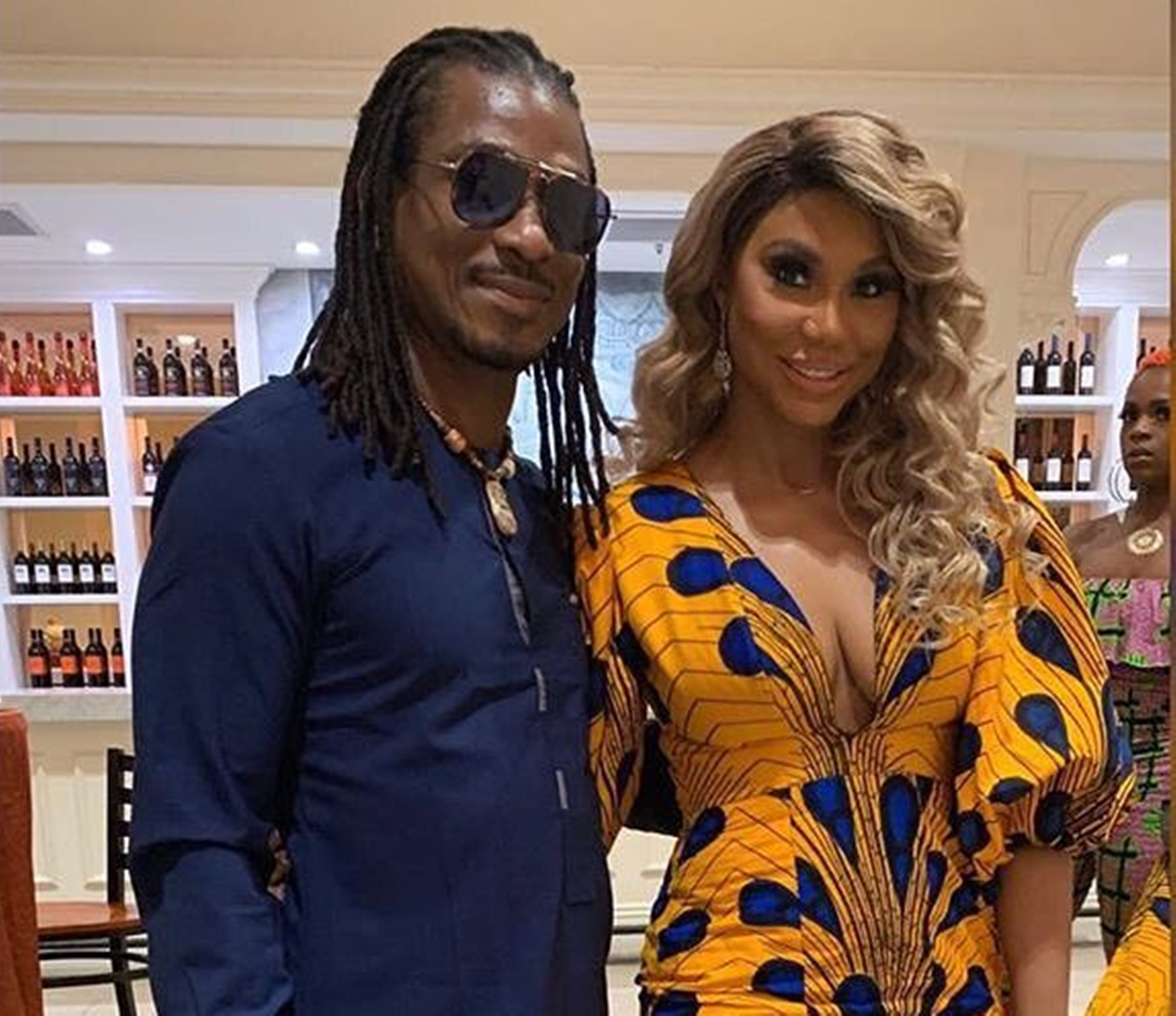 David Adefeso Tamar Braxton Jamaica Vacation